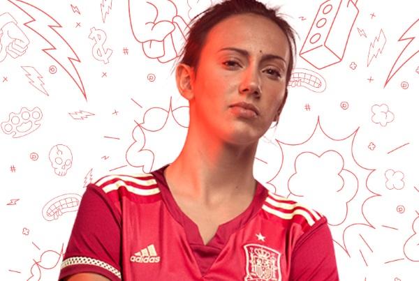 Virginia Torrecilla était titulaire pour le deuxième match de l'Espagne en coupe du monde.