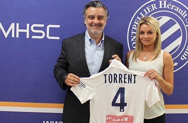 Marion Torrent pour deux saisons supplémentaires au MHSC