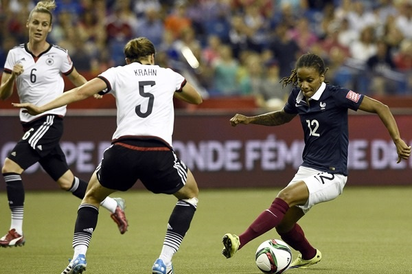Thomis a bien bousculé la défense allemande (photo FIFA.com)