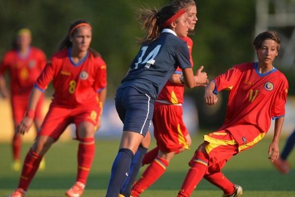 U16 - Deuxième succès face à la ROUMANIE (4-0)