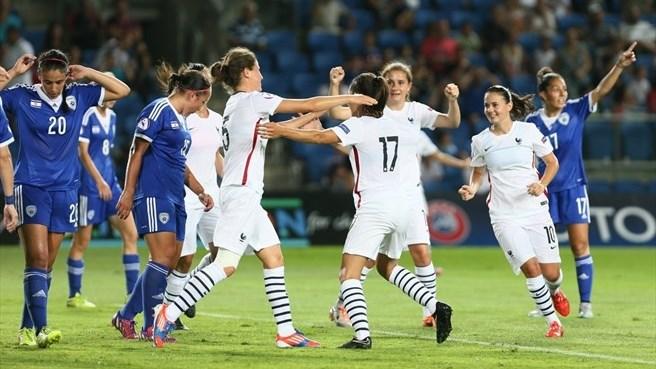 Les Françaises ont pris la première place du groupe et sont qualifiées pour les demi-finales (photo IFA)
