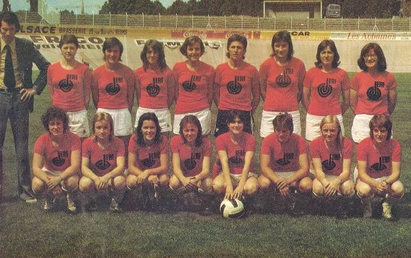 Le Stade de Reims, champion il y a 40 ans