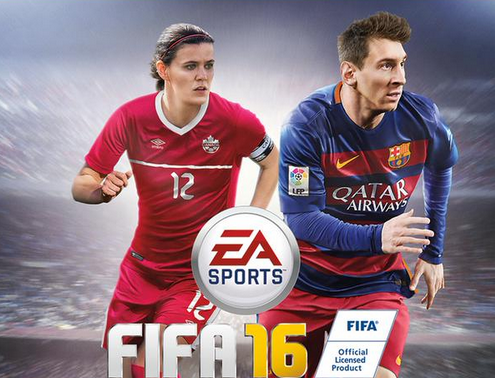 La version canadienne avec Christine Sinclair