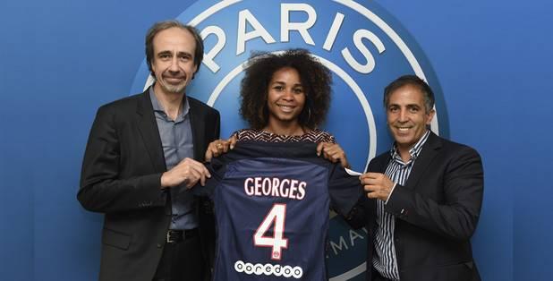 Laura Georges reste au PSG un an de plus (photo PSG)