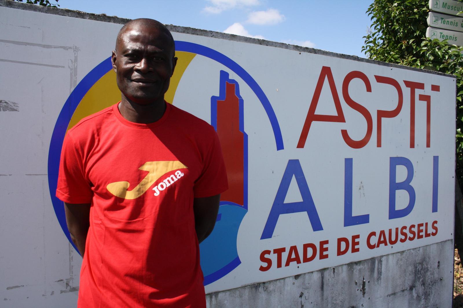 Adolphe Ogouyon a effectué une large revue d'effectif face au Toulouse FC (photo Tarn Libre)