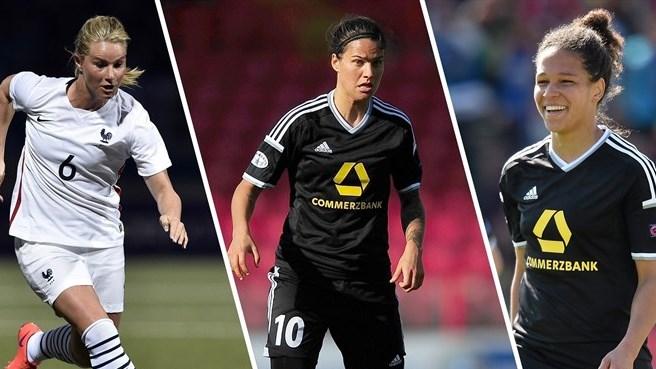 Meilleure Joueuse UEFA 2015 - Amandine HENRY dans le dernier trio