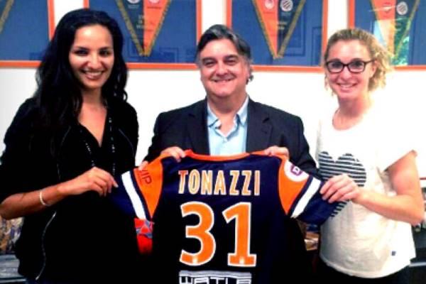 Sonia Souid a participé au transfert de Laëtitia Tonazzi de Lyon à Montpellier