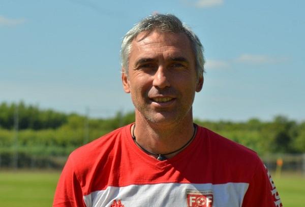 Gilles Agniel, l'entraîneur gardois (photo club)