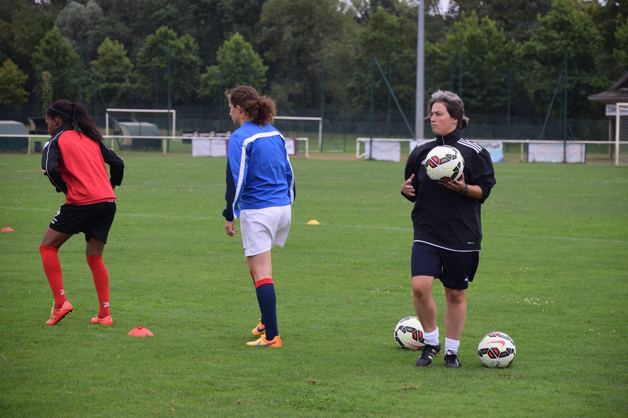 Malika Bousseau a déjà connu la D1 comme entraîneur (photo D Cadiou/LAF)