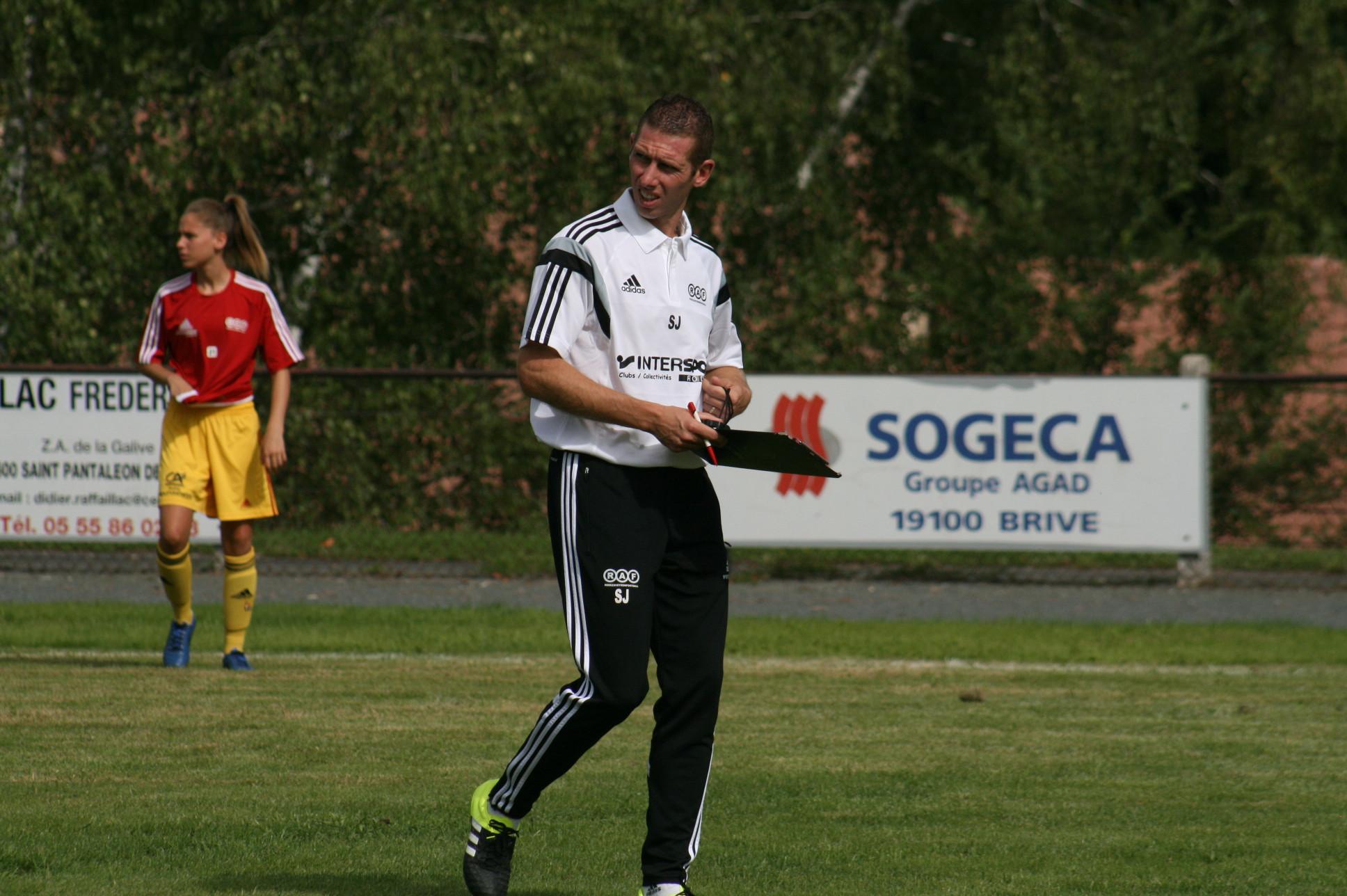 Sébastien Joseph, le nouvel entraîneur du RAF (photo C. Ringaud)