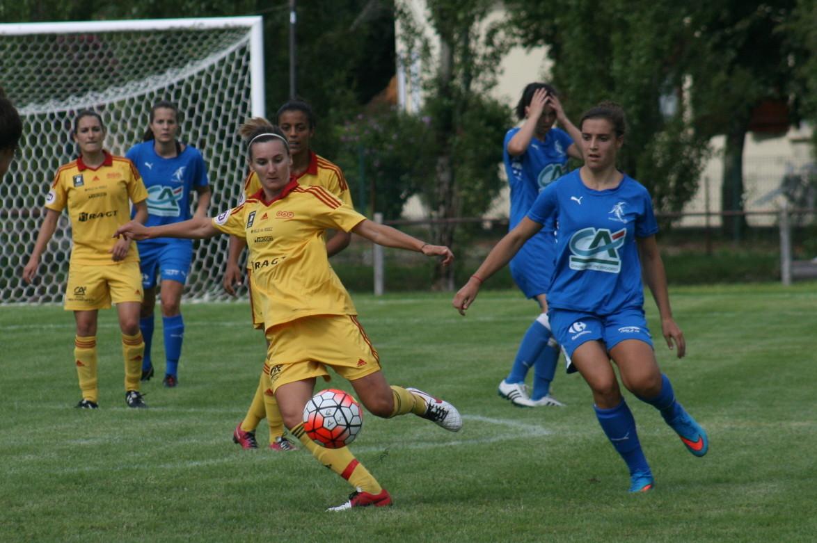 Audrey Cugat, à gauche entame sa 5e saison au club (photo C Ringaud)