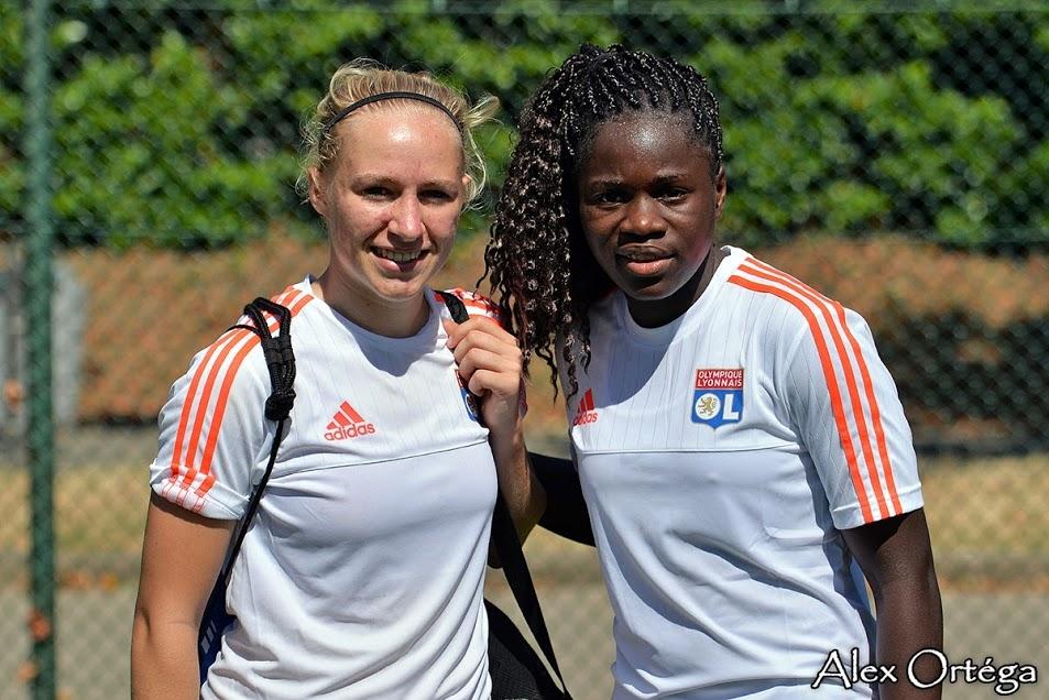 Pauline Bremer avec Griedge Mbock