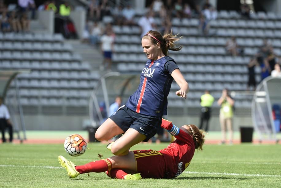 Lindsey Horan de retour sur les pelouses de D1 (photo PSG.fr)