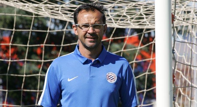 Jean-Louis Saez a entamé sa troisième saison (photo MHSC)