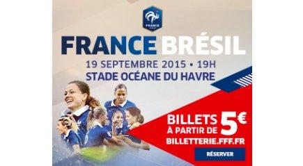 Bleues - Déjà 12 000 billets vendus pour FRANCE - BRESIL