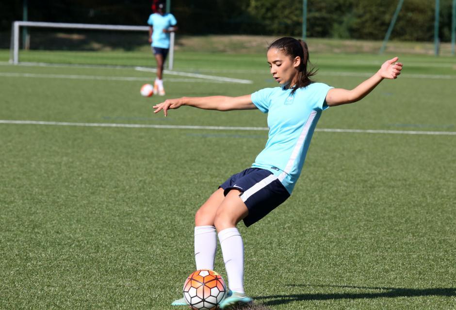 Doublé pour Anissa Lahmari (photo FFF)