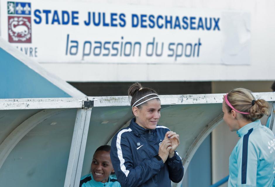 Charlotte Bilbault a connu sa deuxième sélection (photo FFF)