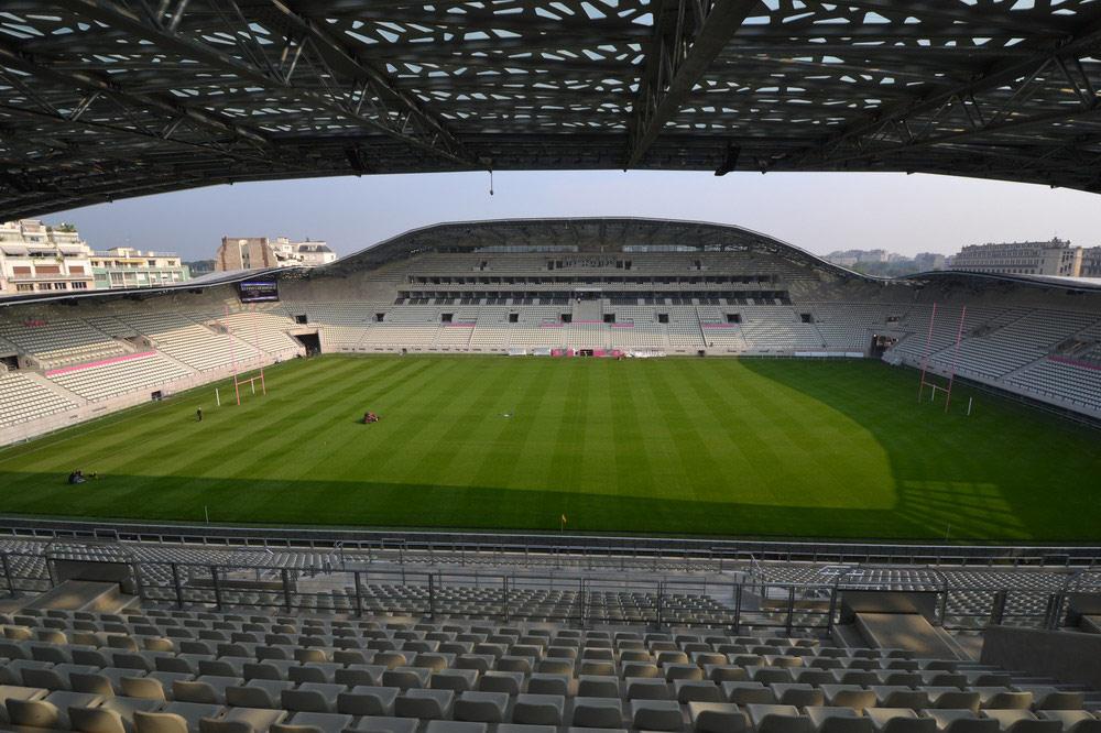 Bleues - FRANCE - PAYS BAS au stade Jean Bouin à Paris le 23 octobre