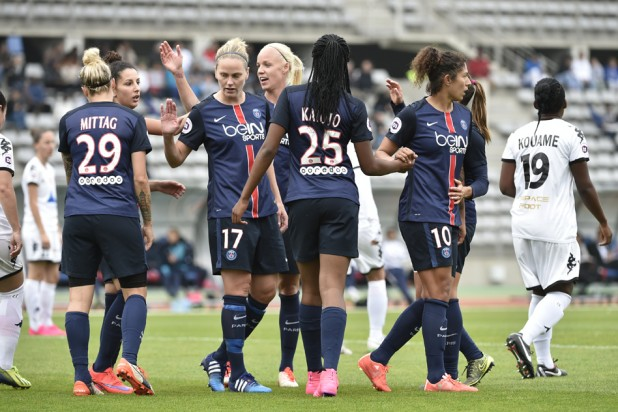 PSG sans pitié face à Nîmes (8-0) (photo PSG.fr)