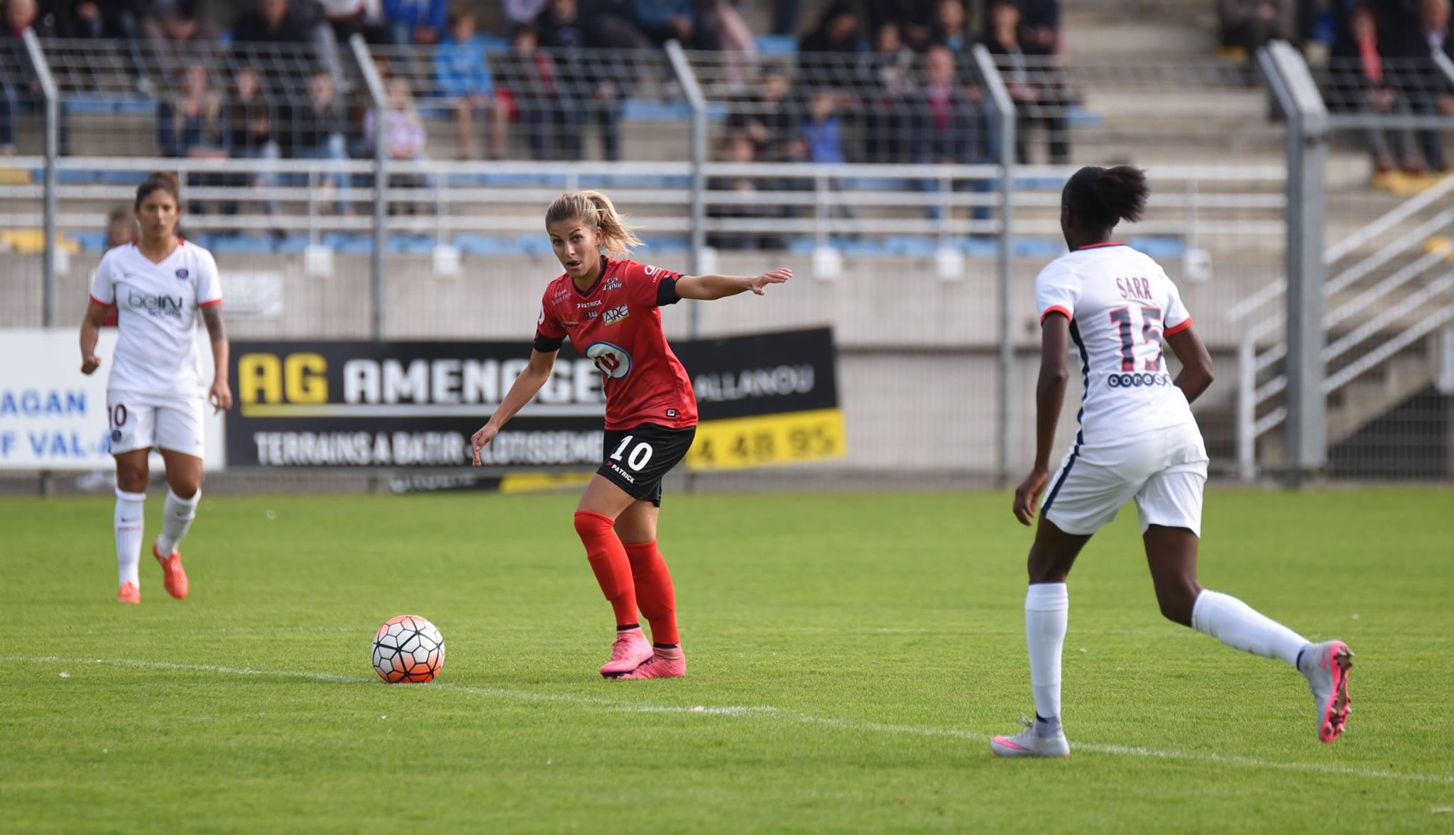 Dali-Storti a égalisé pour Guingamp (photo EAG)