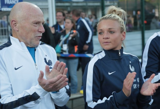 Marion Torrent n'a pas encore disputé de match en A (photo FFF)