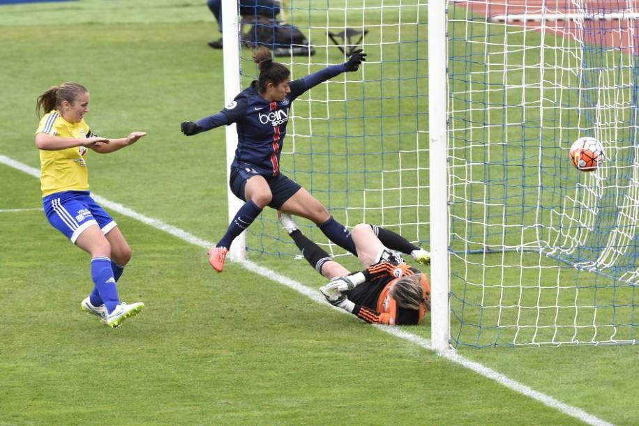 Cristiane réalise un triplé contre Saint-Maur (photo PSG)