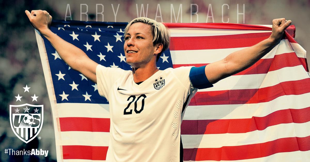 USA - Abby WAMBACH annonce la fin de sa carrière à la Maison Blanche