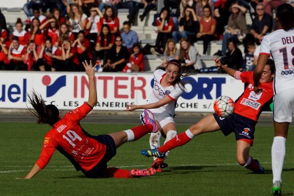Asllani a ouvert le score (photo Sébastien Duret)