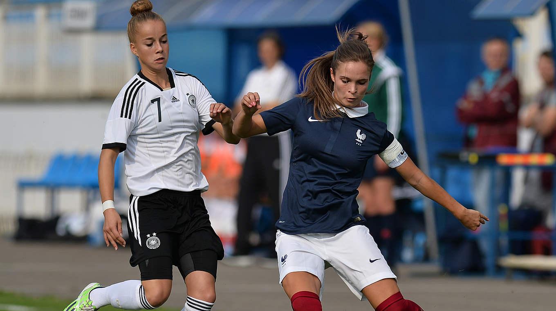 L'Allemagne et la France se sont rencontrés en septembre dernier en amical au Bélarus (photo DFB)
