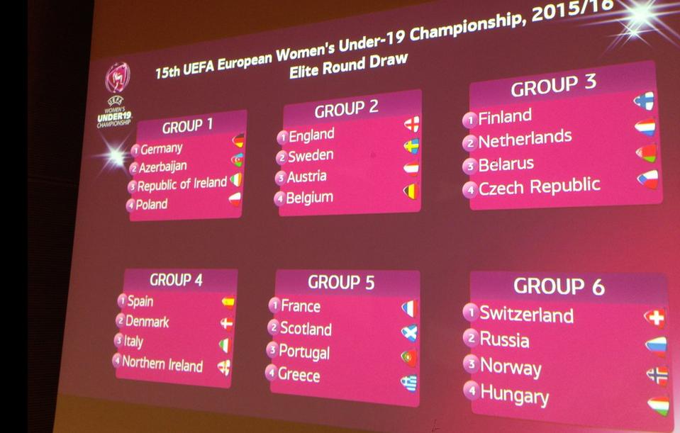 Euro U19 (Tour Elite) - ECOSSE, PORTUGAL et GRECE pour les Bleuettes
