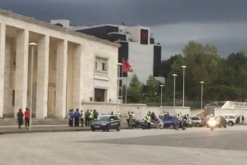 La sécurité était renforcée en Albanie (photo DR)