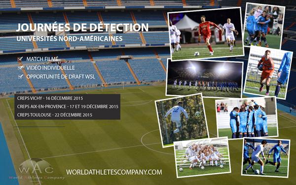 Et si vous viviez votre rêve de football en Amérique du Nord !!!