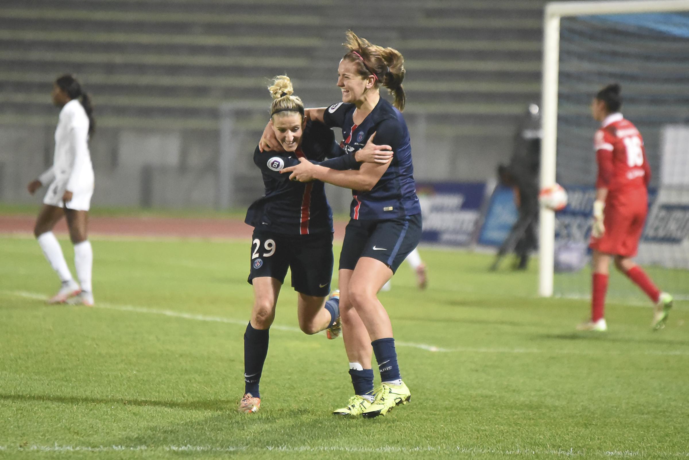 Lindsay Horan a inscrit son dernier but avec le PSG (photo Fred Grando/LMP)