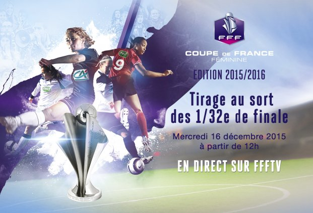 Coupe de France (32es de finale) - Le tirage au sort complet avec une affiche entre D1 : PSG - ALBI