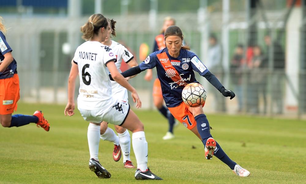 Utsugi et Montpellier ont dû être patient (photo MHSC)