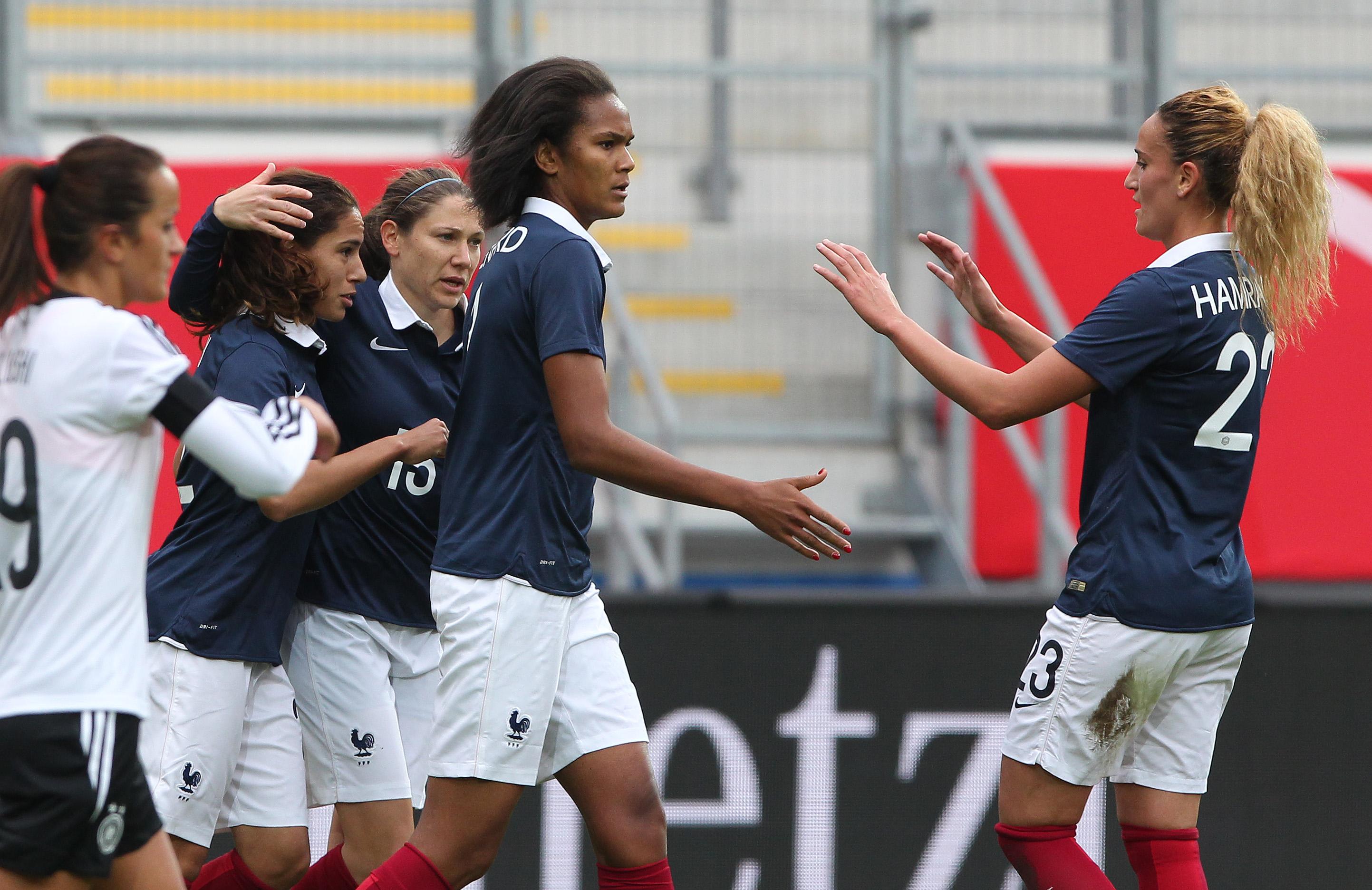 Wendie Renard et les Bleues en quête de médaille aux Jeux (photo DFB)