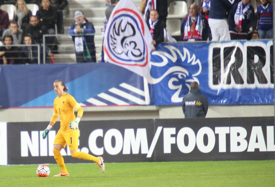 Lors du match à Jean Bouin face aux Pays-Bas (photo Fred Grando/LMP)