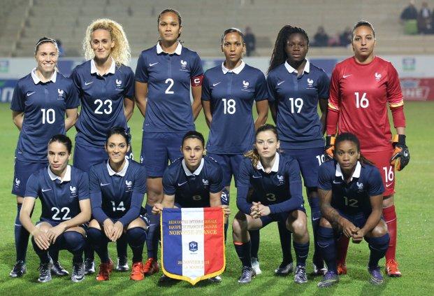 Le onze français (photo FFF.fr)
