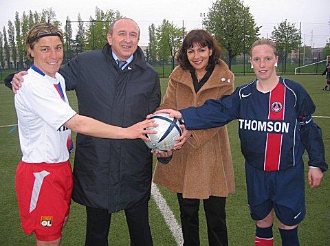 Cécile Locatelli et Laetitia Duffour (photo archive footofeminin.fr)