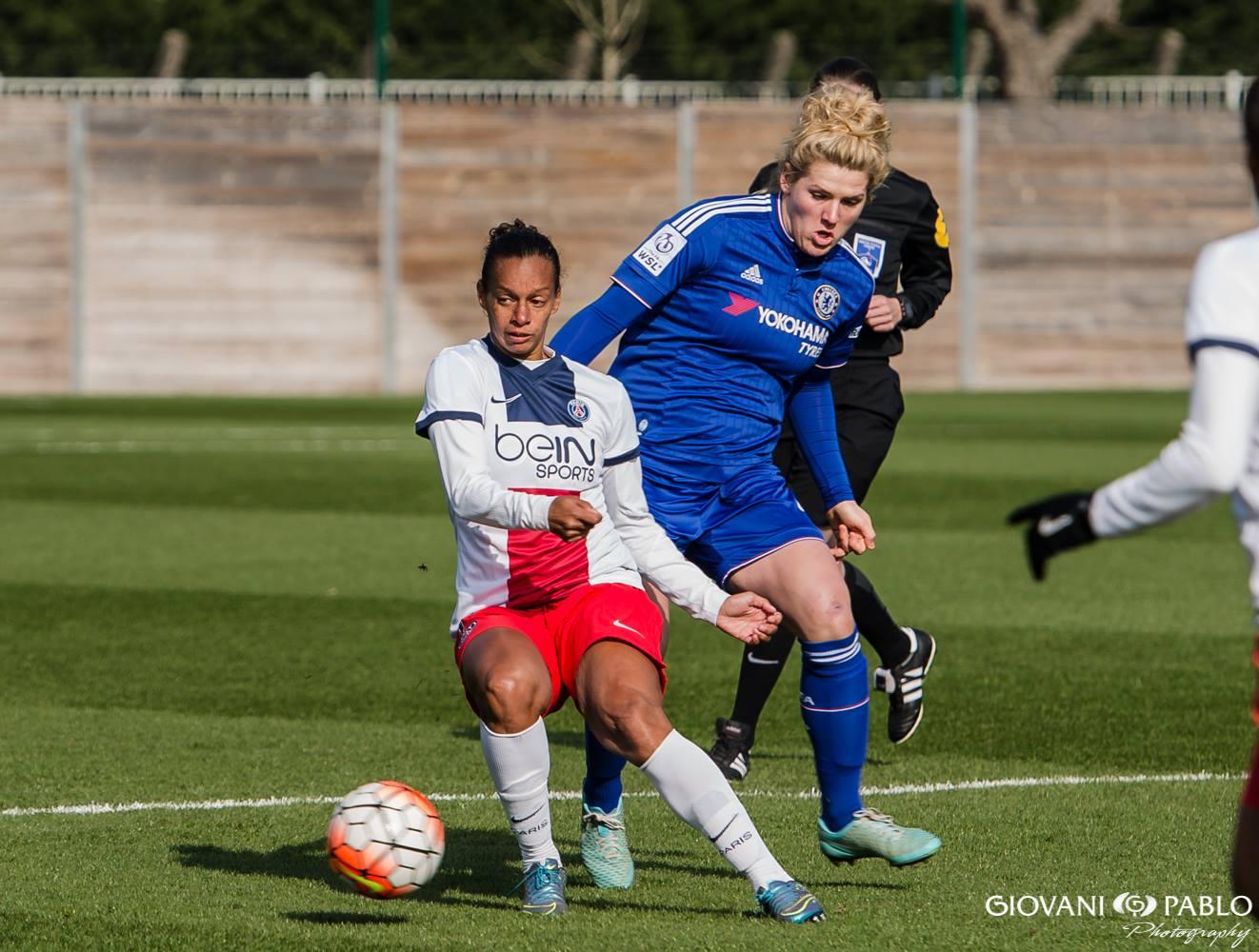 Les débuts de Rosana avec le PSG (photo Giovani Pablo Photography)