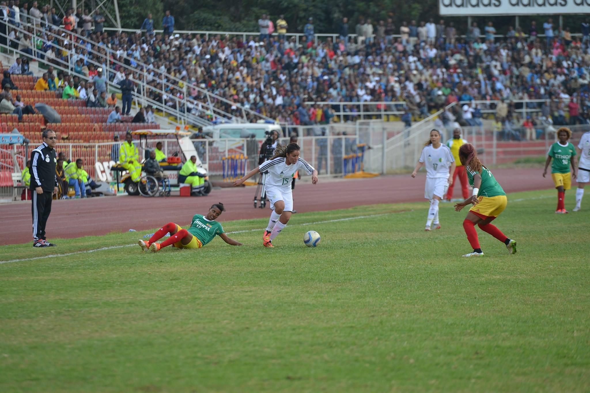 Les Algériennes ont évité le piège en Ethiopie
