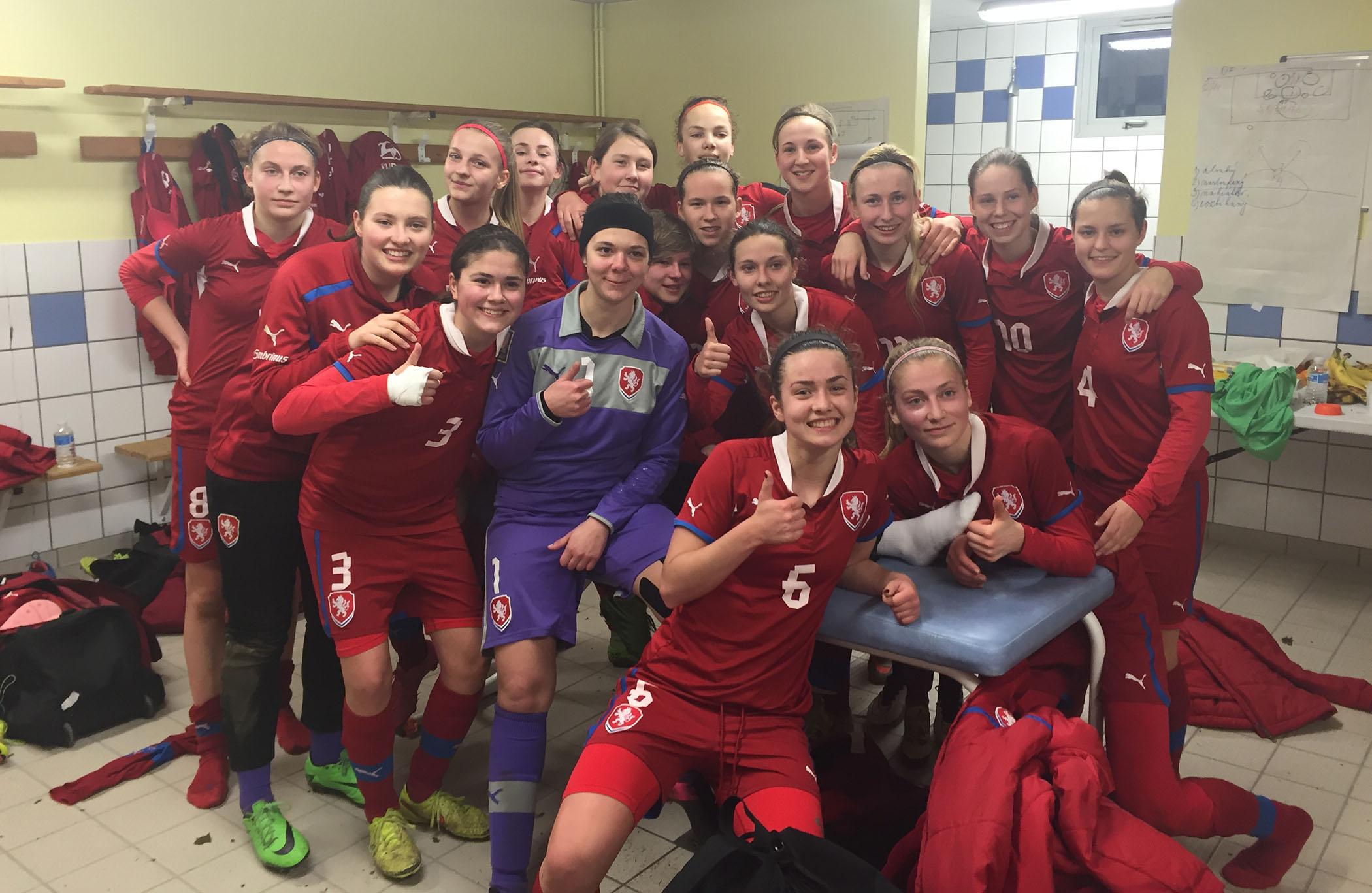 La République tchèque a terminé en tête dans le groupe de la France (photo LFBN)