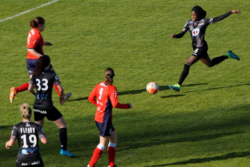 Diallo en action (photo Sébastien Duret)