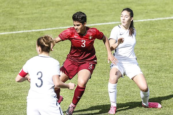La joueuse de Vendenheim, Sarah Da Cunha, évoluait avec le Portugal (photo FPF)