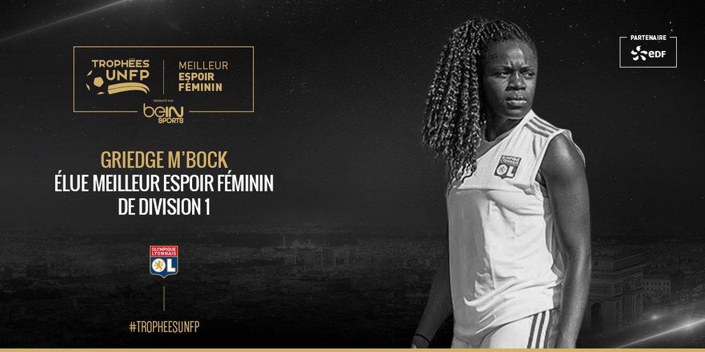 Trophées UNFP - Amel MAJRI, élue meilleure joueuse ; Griedge MBOCK, meilleure espoir