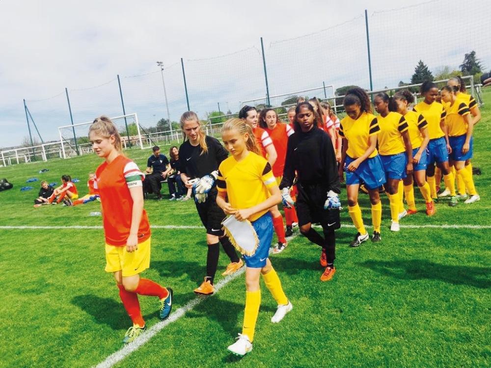 U15 - Les joueuses nées en 2001 en stage national