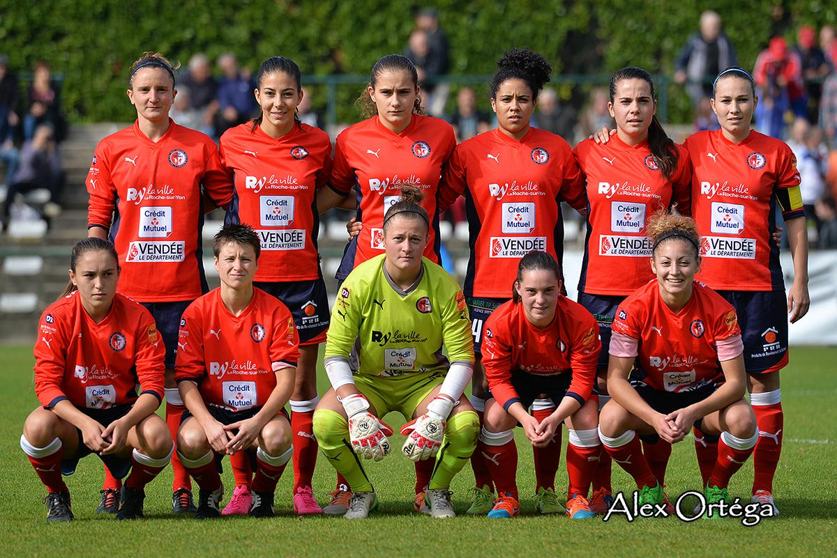 la jeune équipe de La Roche