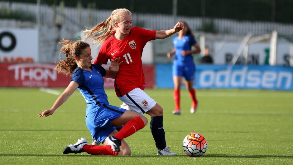 Match nul pour débuter face à la Norvège (photo NFF)