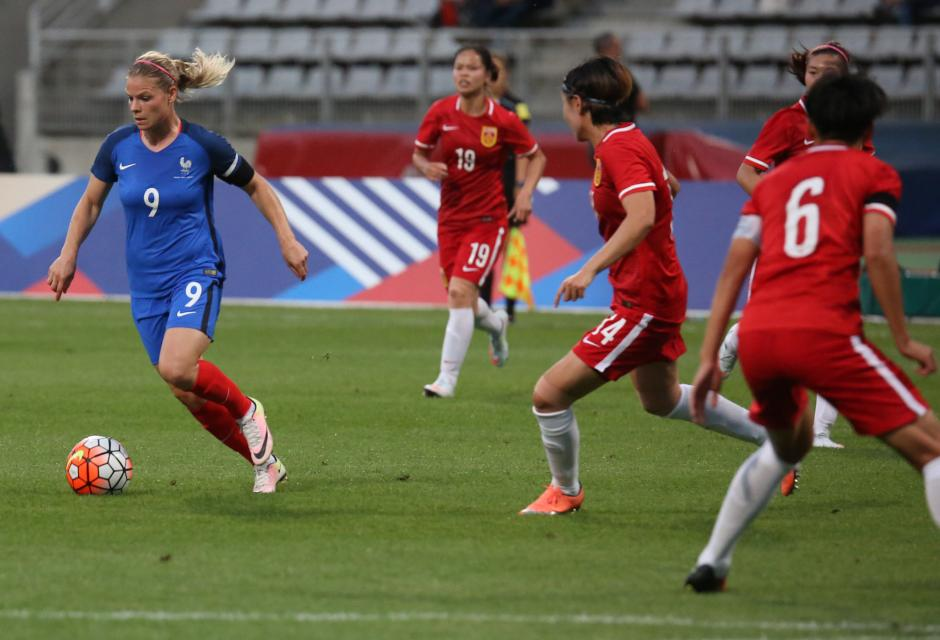 Eugénie Le Sommer (photo Antonio Mesa/FFF)