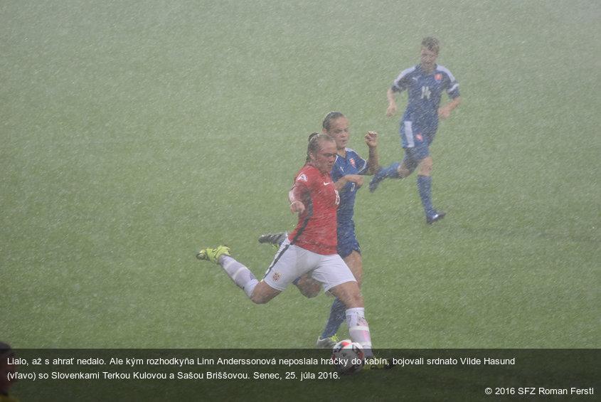 Slovaquie - Norvège arrêté après 49 minutes et 13 secondes !